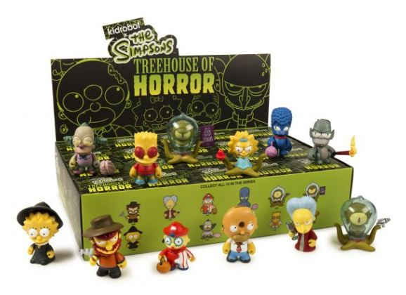 *PRE ORDER* The Simpsons Tree House of Horrors Mini Series Blind Box Figure
