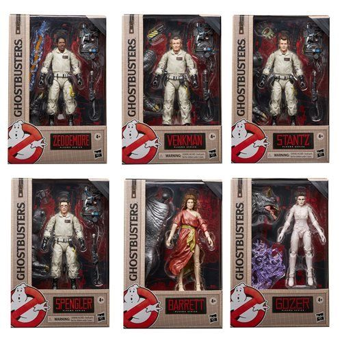 Ghostbusters Plasma Series Wave 1 set of 6