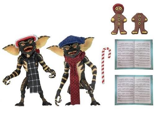 "Gremlins 7"" Scale Christmas Carol Winter Scene 2 Pack (Set 1)"