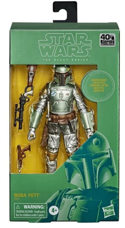 Star Wars: The Black Series Carbonized Boba Fett Action Figure