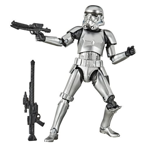 Star Wars: The Black Series Carbonized Stormtrooper Action Figure