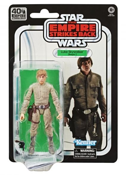 Star Wars: The Black Series Empire Strikes Back 40th Anniversary Luke Skywalker Bespin