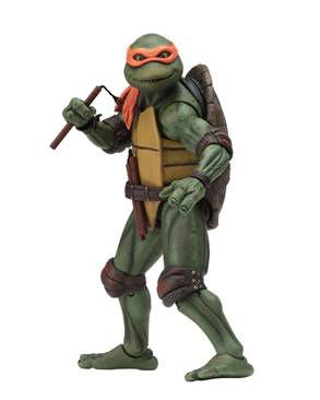 Teenage Mutant Ninja Turtles 1990 Movie Michelangelo